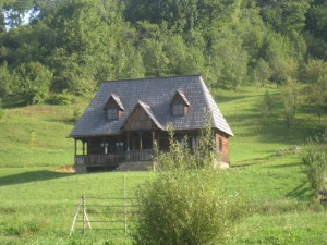 Wooden House in Botiza