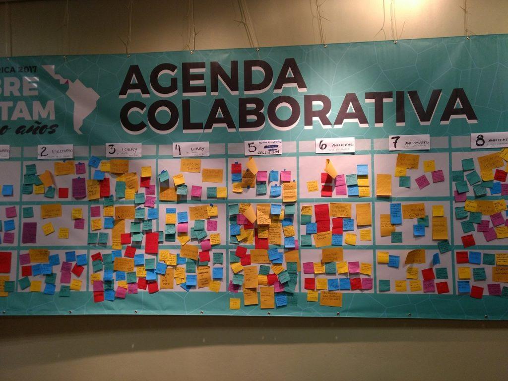 Collaborative Agenda at AbreLatam 2017